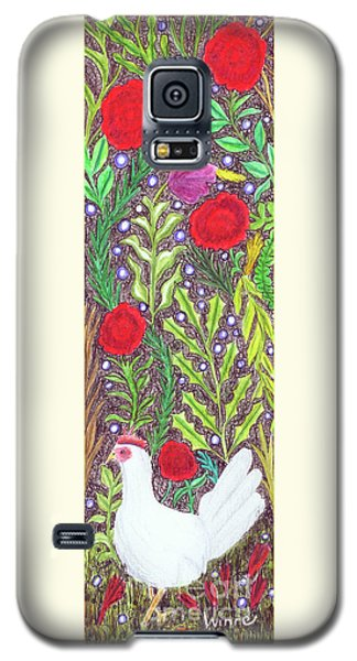 Chicken With An Attitude In Vegetation Galaxy S5 Case