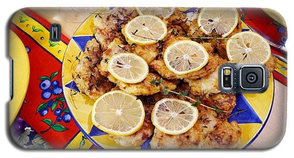 Chicken With Lemon Galaxy S5 Case