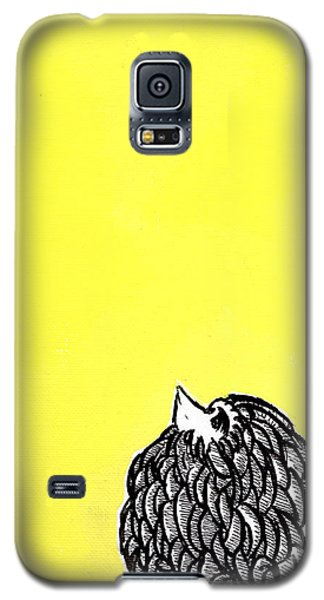 Galaxy S5 Case featuring the painting Chickens Four by Jason Tricktop Matthews