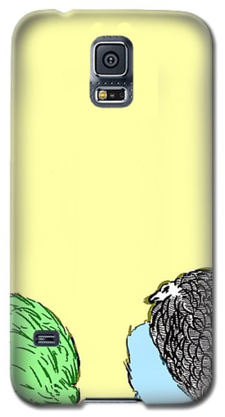 Chickens Three Galaxy S5 Case by Jason Tricktop Matthews