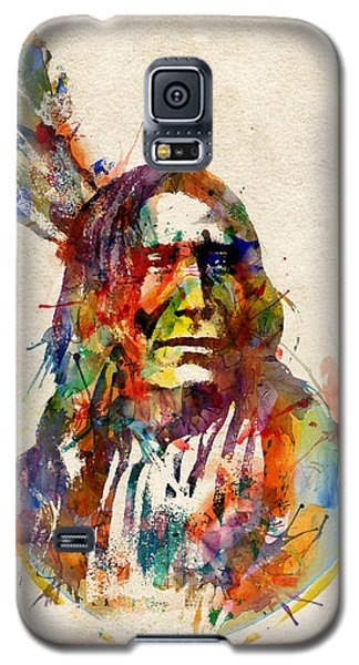 Chief Mojo Watercolor Galaxy S5 Case by Marian Voicu