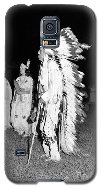 Chief  Red Bird Galaxy S5 Case by Larry Keahey