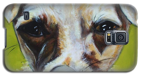 Chihuahua Mix- Roxie Galaxy S5 Case by Laura  Grisham