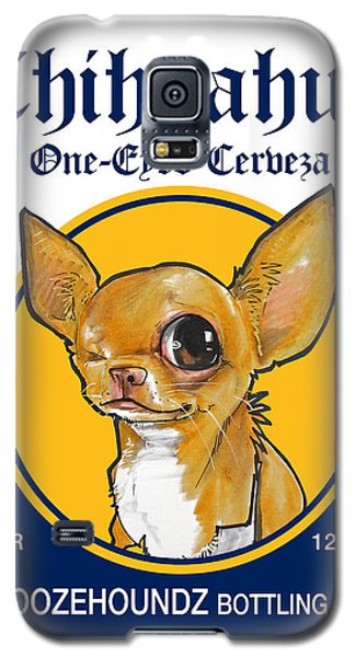 Chihuahua One-eyed Cerveza Galaxy S5 Case