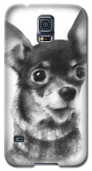 Chihuahua Pup Galaxy S5 Case by Natasha Denger
