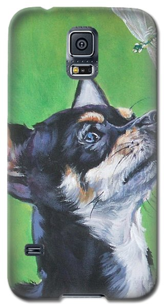 Chihuahua With Dragonfly Galaxy S5 Case