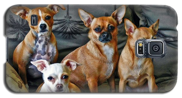 Chihuahuas Hanging Out Galaxy S5 Case