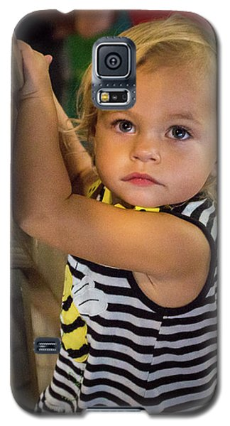 Galaxy S5 Case featuring the photograph Child In The Light by Bill Pevlor