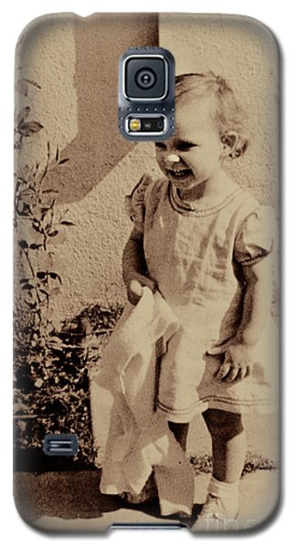 Galaxy S5 Case featuring the photograph Child Of  The 1940s by Linda Phelps