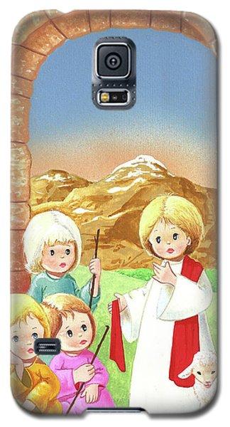 Child Shepherds Galaxy S5 Case