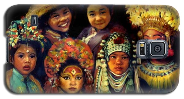 Children Of Asia Galaxy S5 Case