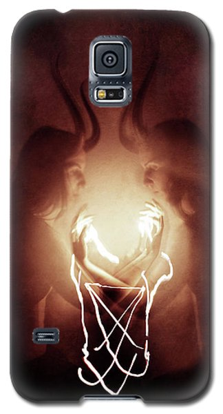 Magician Galaxy S5 Case - Children Of Fire by Cambion Art