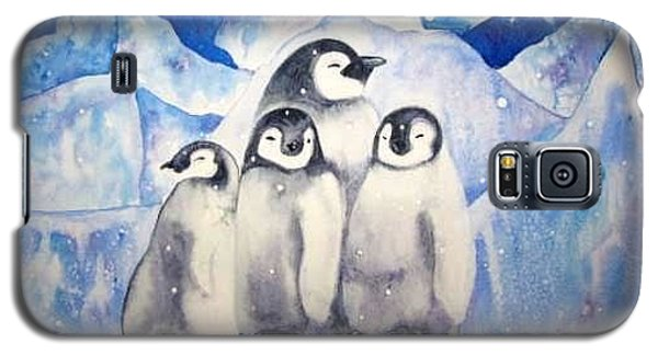 Galaxy S5 Case featuring the painting Chill Out by Martha Ayotte