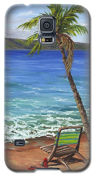 Chillaxing Maui Style Galaxy S5 Case by Darice Machel McGuire