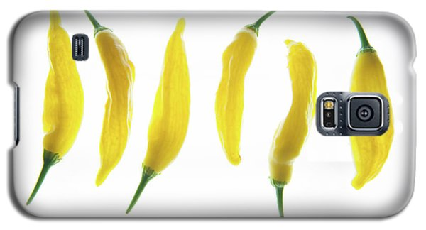Chillies Lined Up II Galaxy S5 Case