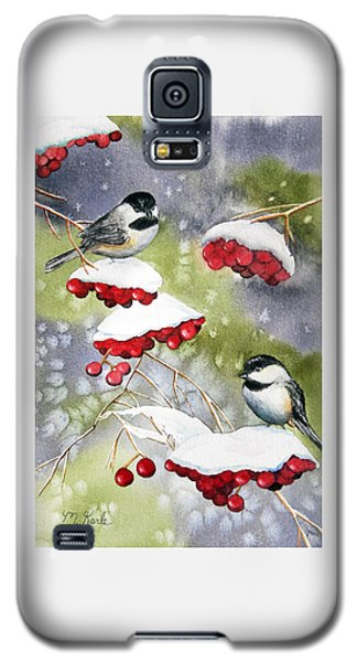 Chilly Chickadees Galaxy S5 Case