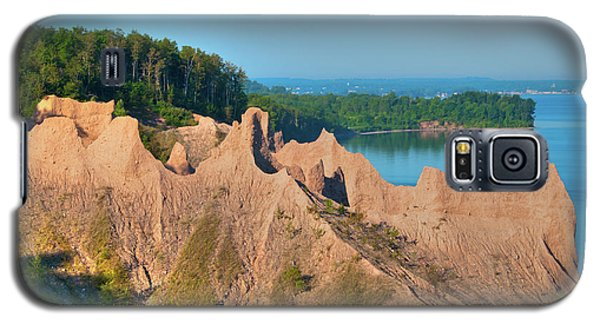 Chimney Bluffs 1750 Galaxy S5 Case