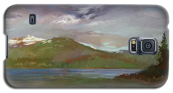 Chimney Rock  At Priest Lake  Plein Air Galaxy S5 Case