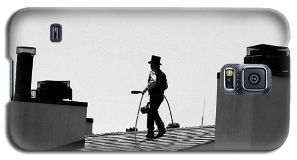 Galaxy S5 Case featuring the photograph Chimney Sweep by Helen Haw