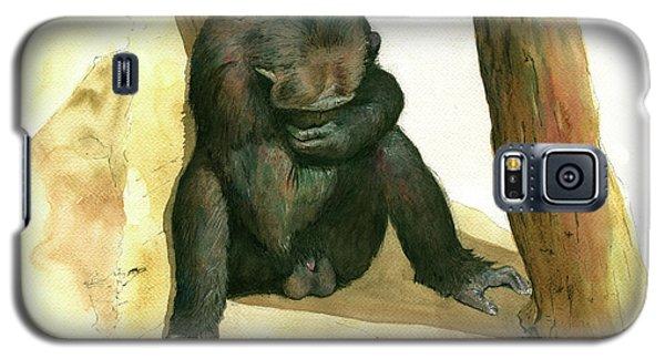Chimp Galaxy S5 Case by Juan Bosco