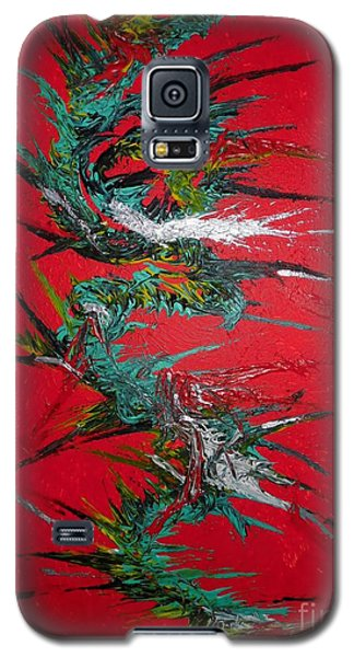 Galaxy S5 Case featuring the digital art China By Nico Bielow by Nico Bielow