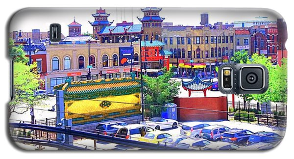 Chinatown Chicago 1 Galaxy S5 Case by Marianne Dow