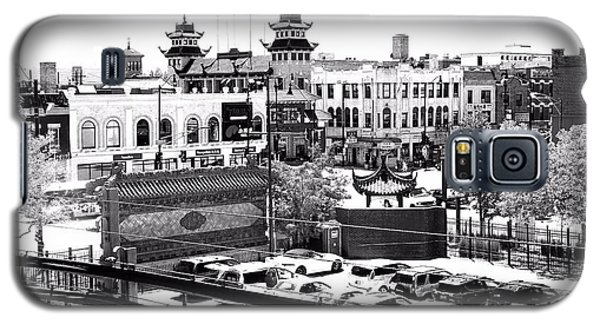 Chinatown Chicago 4 Galaxy S5 Case by Marianne Dow