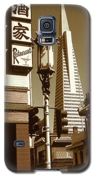 Chinatown San Francisco - Vintage Photo Art Galaxy S5 Case