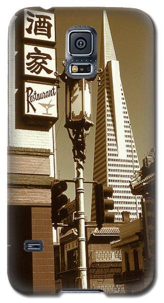 San Francisco Chinatown And Pyramid Galaxy S5 Case