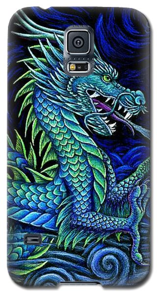 Chinese Azure Dragon Galaxy S5 Case