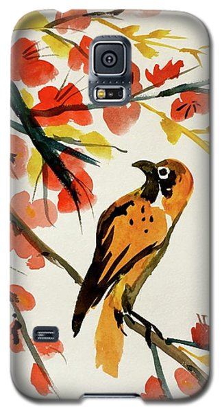 Chinese Bird With Blossoms Galaxy S5 Case