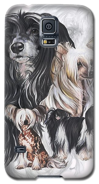 Chinese Crested And Powderpuff Medley Galaxy S5 Case