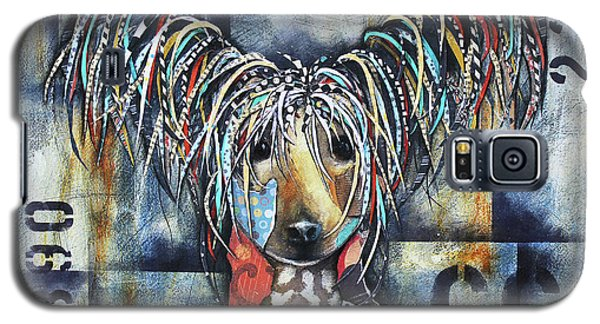 Chinese Crested Galaxy S5 Case