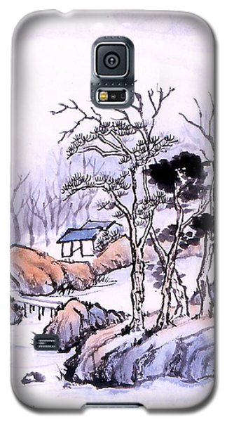 Chinese Landscape Galaxy S5 Case by Yolanda Koh