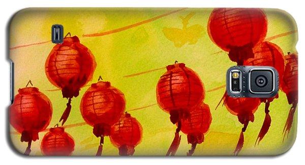Chinese Lanterns Galaxy S5 Case