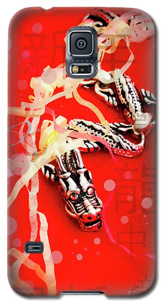 Dragon Galaxy S5 Case - Chinese New Year Background by Jorgo Photography - Wall Art Gallery