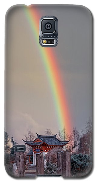 Chinese Reconciliation Park Rainbow Galaxy S5 Case