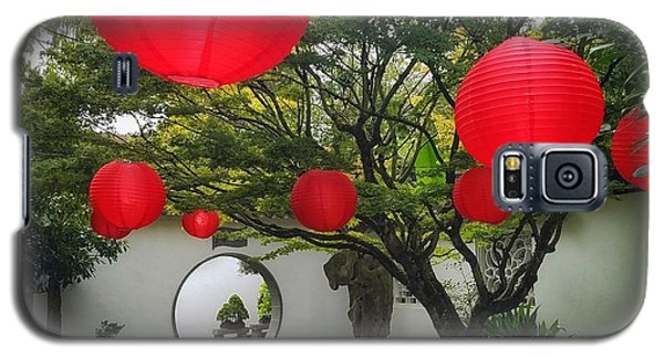 Chinese Tea Garden In Portland, Oregon Galaxy S5 Case