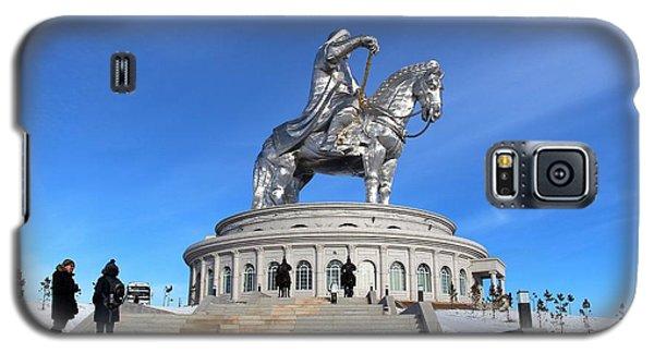 Chinggis Khan Statue/tsagaan Sar Galaxy S5 Case