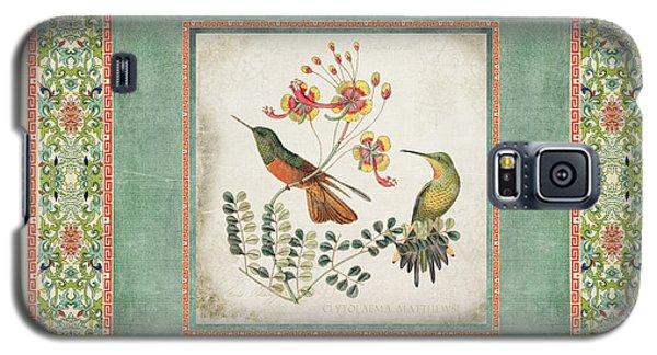 Chinoiserie Vintage Hummingbirds N Flowers 1 Galaxy S5 Case