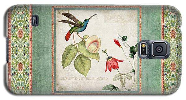 Chinoiserie Vintage Hummingbirds N Flowers 2 Galaxy S5 Case