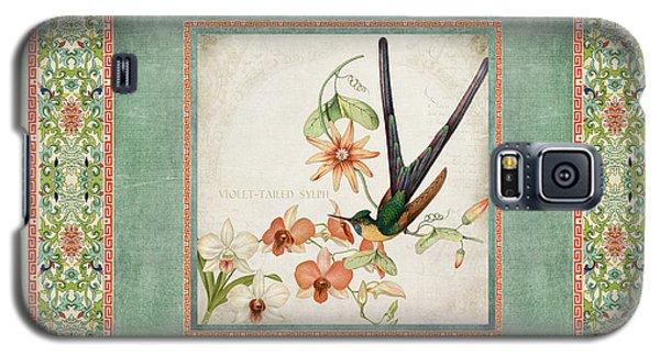 Chinoiserie Vintage Hummingbirds N Flowers 3 Galaxy S5 Case