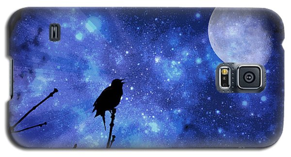Chirping At The Moon  Galaxy S5 Case