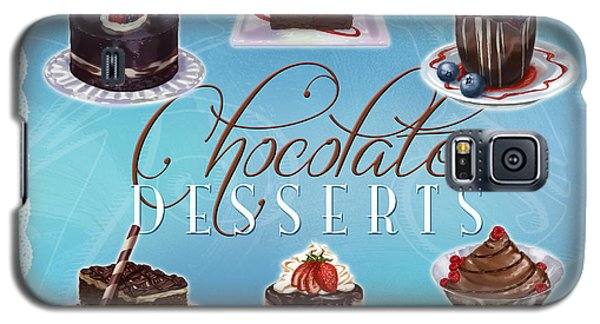 Chocolate Desserts Galaxy S5 Case