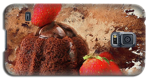 Galaxy S5 Case featuring the photograph Chocolate Explosion by Darren Fisher