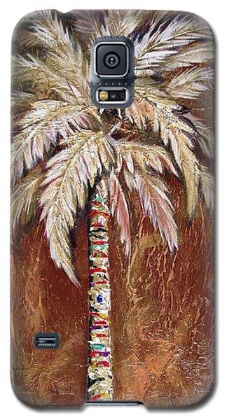 Chocolate Palm Galaxy S5 Case