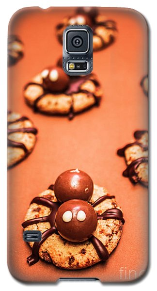 Chocolate Peanut Butter Spider Cookies Galaxy S5 Case by Jorgo Photography - Wall Art Gallery