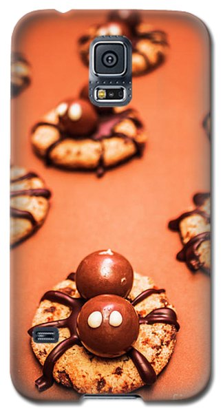 Chocolate Peanut Butter Spider Cookies Galaxy S5 Case