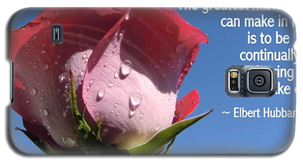 Choose Your Quote Choose Your Picture 24 Galaxy S5 Case