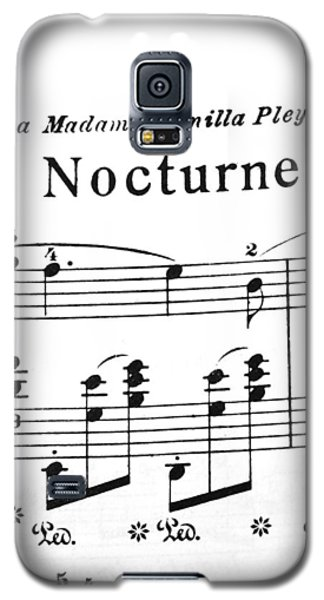 Chopin Nocturne Part 2 Galaxy S5 Case